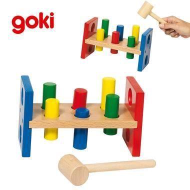 banc a marteler jouet en bois educatif d eveil achat. Black Bedroom Furniture Sets. Home Design Ideas