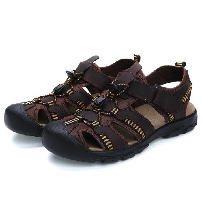 Chaussure Homme Printemps Été Comfortable Respirant Slip On Chaussures BXFP-XZ070Bleu38 S2ljT