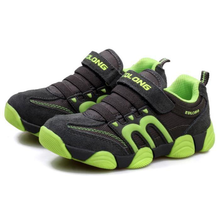 Basket Chaussures de sport respirantes à la mode pour enfants