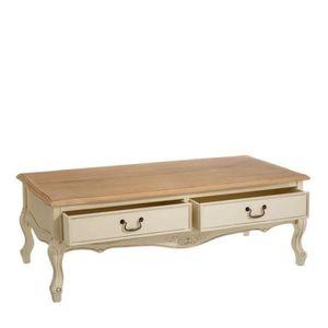 table basse creme achat vente pas cher. Black Bedroom Furniture Sets. Home Design Ideas