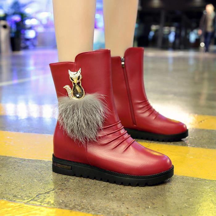 gg Vin Chaussures Mince Bottes du Mode Femmes Confortables lgantes Chaussures nzqpTB1x8w
