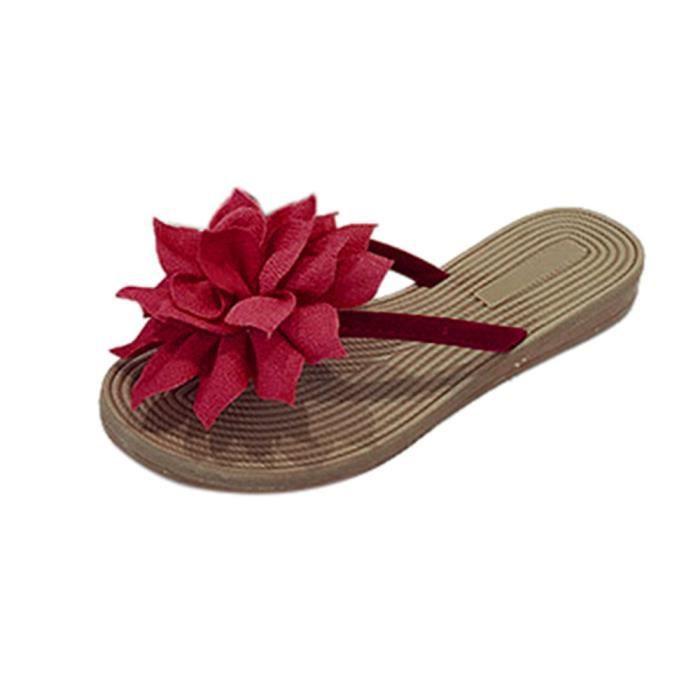 Loisirs De Femmes Tongs 4173 D't Doux Chaussons Sandales Chaussures Floraux Plage gBq7A