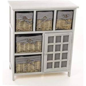 meuble avec panier achat vente meuble avec panier pas cher black friday le 24 11 cdiscount. Black Bedroom Furniture Sets. Home Design Ideas