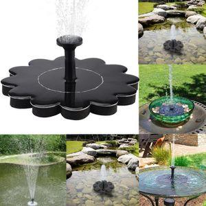 Extérieur à énergie solaire oiseaux bain d\'eau Fontaine pompe pour ...