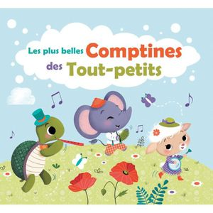 CD COMPTINES - ENFANTS Les plus belles comptines des Tout-petits - CD pou