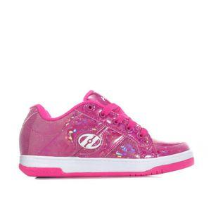BASKET Chaussures Heelys Split Skate pour fille en rose