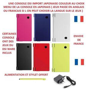 CONSOLE DS LITE - DSI CONSOLE DSI IMPORT JAPONAISE COULEUR AUX CHOIX MEN