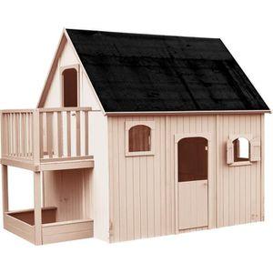 Maisonnette bois enfant achat vente jeux et jouets pas chers - Maison de jardin pour fille metz ...
