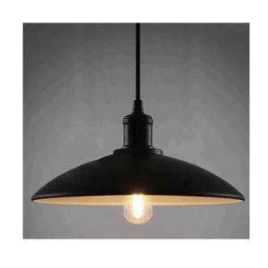 ABAT-JOUR STOEX® Abat Jour Suspension Noir Métal Lampe Suspe