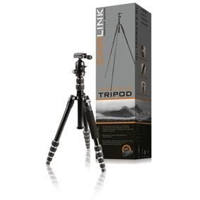 CAMLINK CL-TPPRE23-BL Trépied Premium Appareil-photo / vidéo Rotule 160 cm - Noir