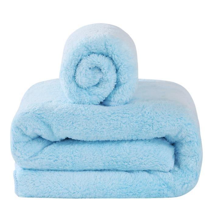 set 2 pi ce serviettes drap de bain 70x140 cm et. Black Bedroom Furniture Sets. Home Design Ideas