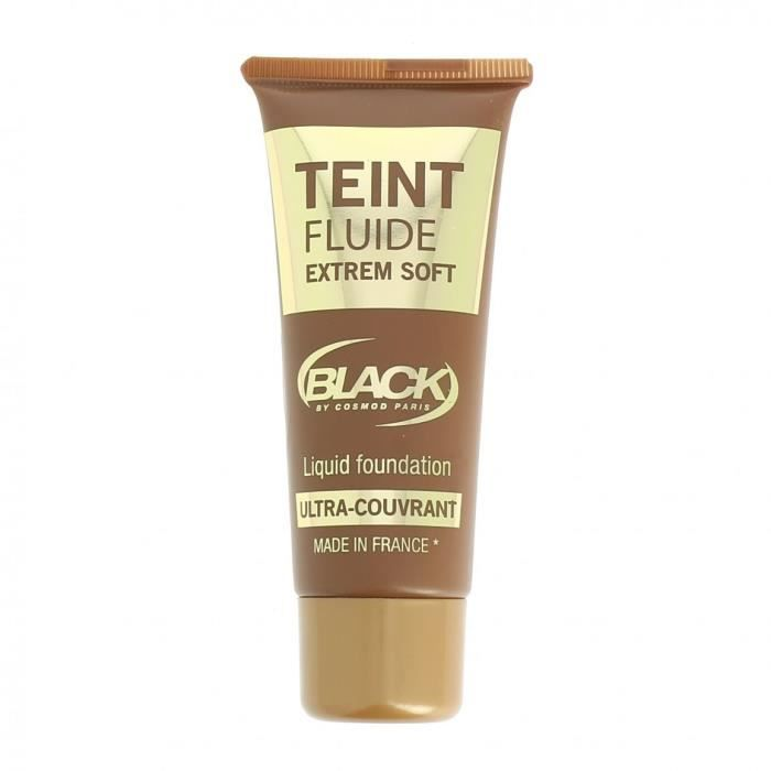 Teint Fluide Achat Cosmod Couvrant Black Ultra 02 Chataigne Igb76Yfyv