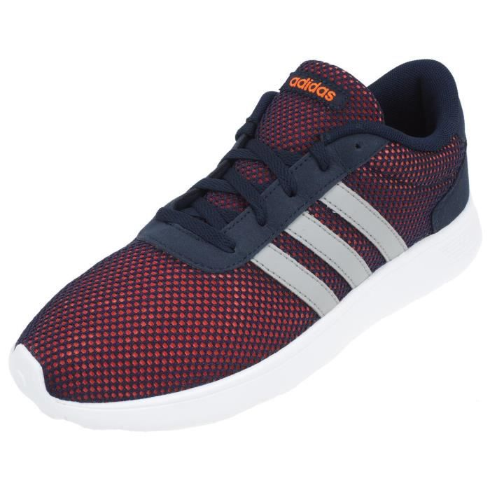 finest selection 2b047 9f4ed Chaussures basses cuir ou synthétique Lite racer navy - Adidas neo