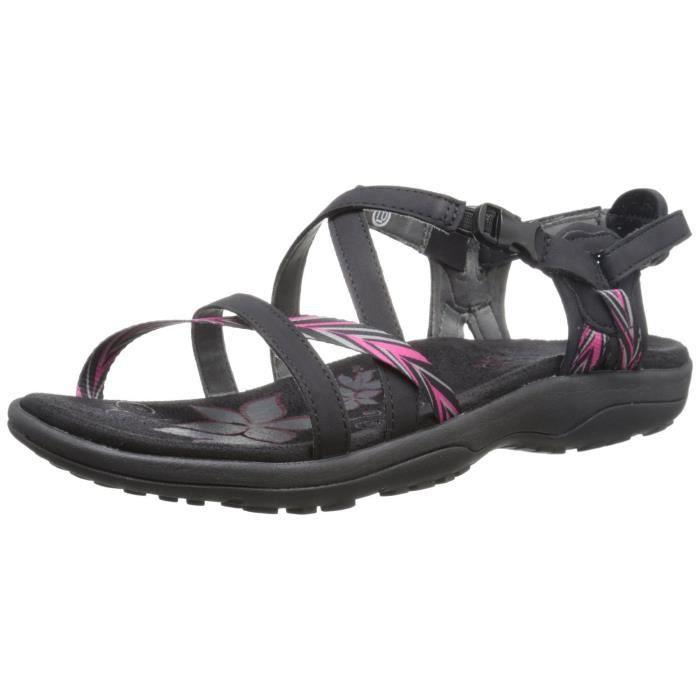 Skechers Regga slim féminin garde une sandale proche de gladiateur OBDXY