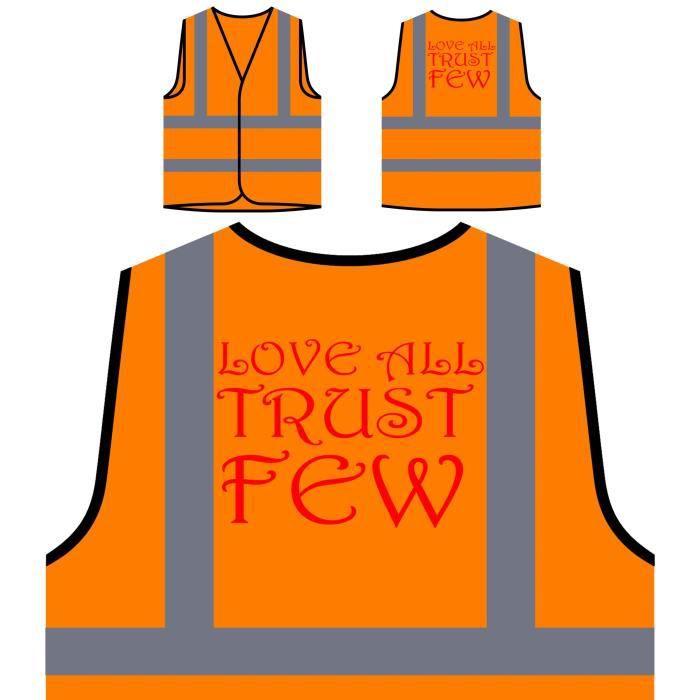 Orange Nouveautés vous Veste aimez Tous Quelques Haute De Confiez À Ora Visibilité Protection Personnalisée qqxEvw67