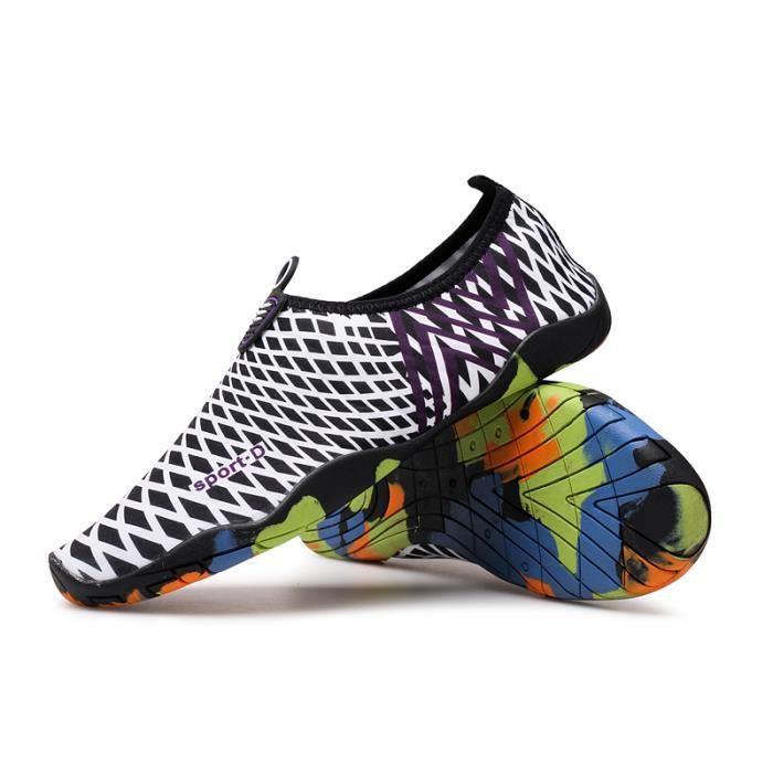 Pour Sport Aquatique Unisexe Bain De Chaussures Homme Chaussons wRXRqAIxz