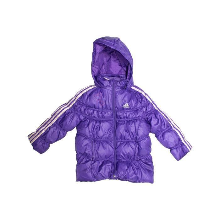 463f93797d2f6 Doudoune enfant fille ADIDAS 4 ans violet hiver - vêtement bébé ...