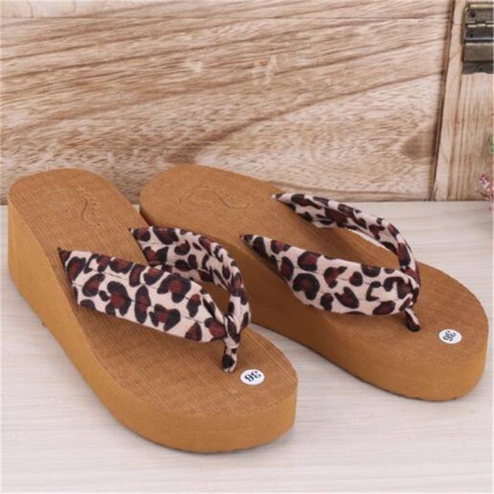 Femmes Tongs Grande Taille Antidérapant Durable Classique Talons hauts Meilleure Qualité Nouvelle Mode Plus De Couleur Chaussures lAa7yawi
