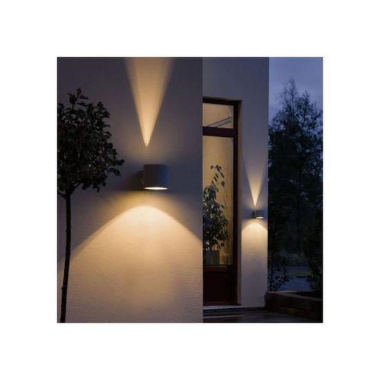 Applique Exterieure Design Duetto - Achat   Vente Applique Exterieure Design  … Aluminium - Cdiscount 9c545522edea