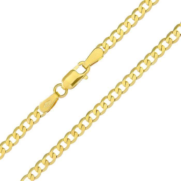 Ufc070 7.5 - Bracelet Femme - Or Jaune 375-1000 (9 Cts) 1.5 Gr N97MN