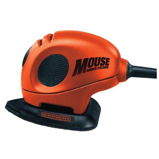 Ponceuse mouse 55w black et decker