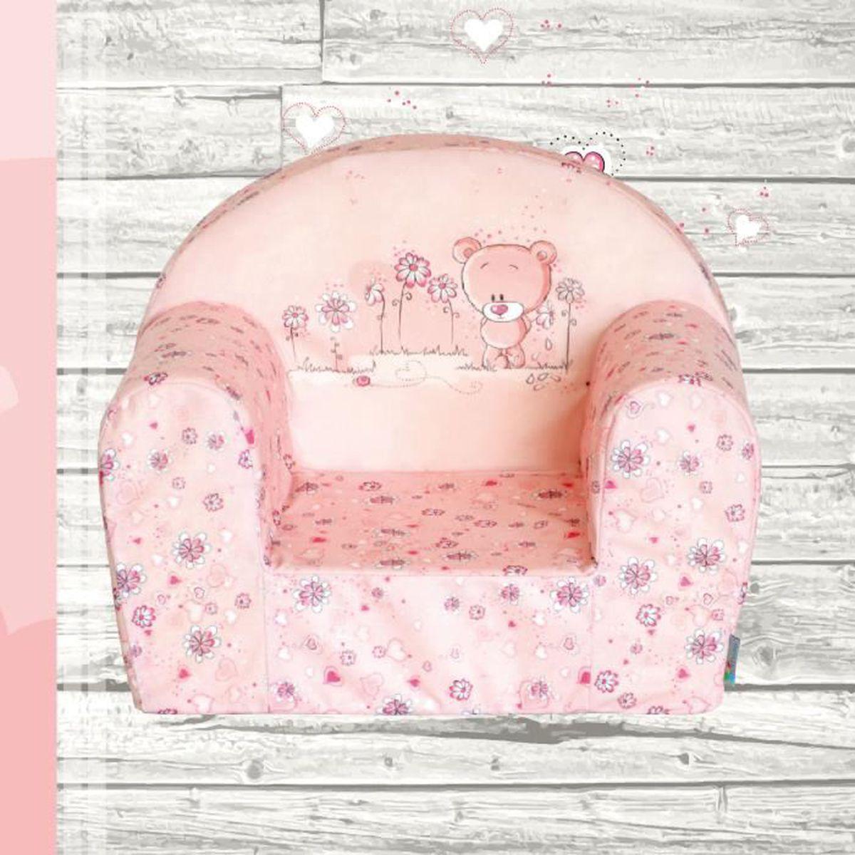 Fauteuil Mousse Fille #13: Mini-fauteuil Sweet Bear