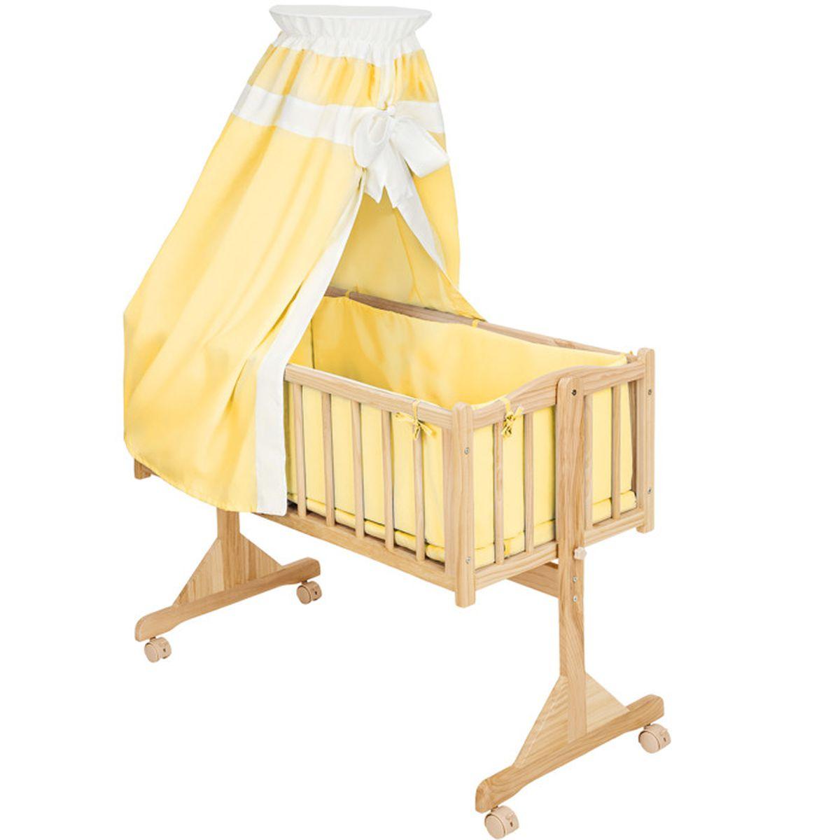 berceau b b complet lit b b 9 accessoires insert parure de lit ciel bois 100 cm x 50 cm. Black Bedroom Furniture Sets. Home Design Ideas