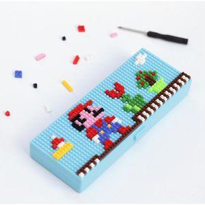 TROUSSE À STYLO Trousse à Crayons Stylo Puzzle Des Fourniture Scol
