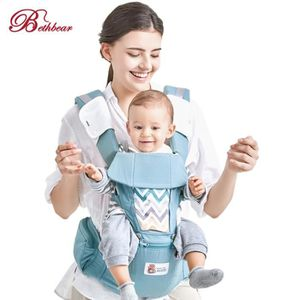 Beth Bear 0-36M respirant Porte-bébé 4 en 1 Infantile Sling Backpack ... e43e4d6e938