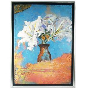 Tableau Peinture Fleurs Achat Vente Pas Cher
