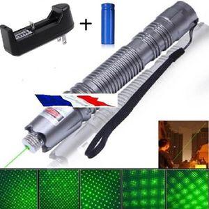 POINTEUR Ultra Puissant Pointeur laser gris stroboscope 1mw