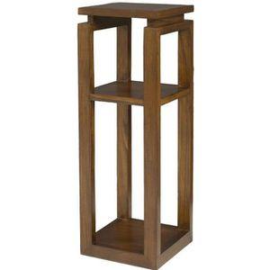 MEUBLE ÉTAGÈRE LOLA Selette en bois massif style ethnique - L 30