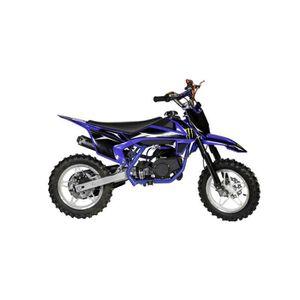 MOTO Pocket cross Cross Sport 49cc - Bleu - Dirt bike /