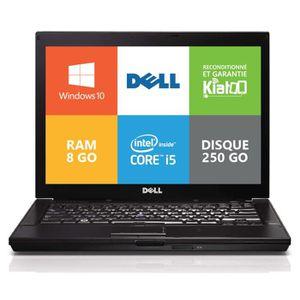 ORDINATEUR PORTABLE Ordinateur portable Dell E6410 Core I5 8go ram 250
