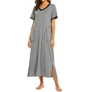 acheter populaire 6ef6a 58019 Chemise de nuit femme longue