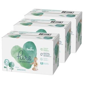 COUCHE 297 Couches Pampers Pure Protection taille 2