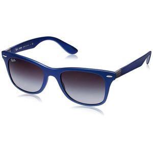 745e0ff42c3d23 LUNETTES DE SOLEIL Ray-ban Lunettes de soleil carrées (bleu) (rb4195 ...