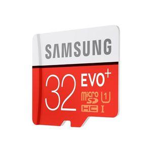 CARTE MÉMOIRE Carte mémoire micro SD Evo Plus Samsung 32Go