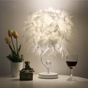 LAMPE A POSER STOEX Lampes de table en plume cristal lecture sal