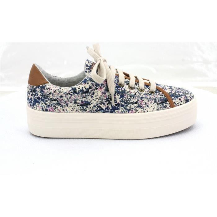 BASKET - no name plateforme sneakers C0FFebYNuB