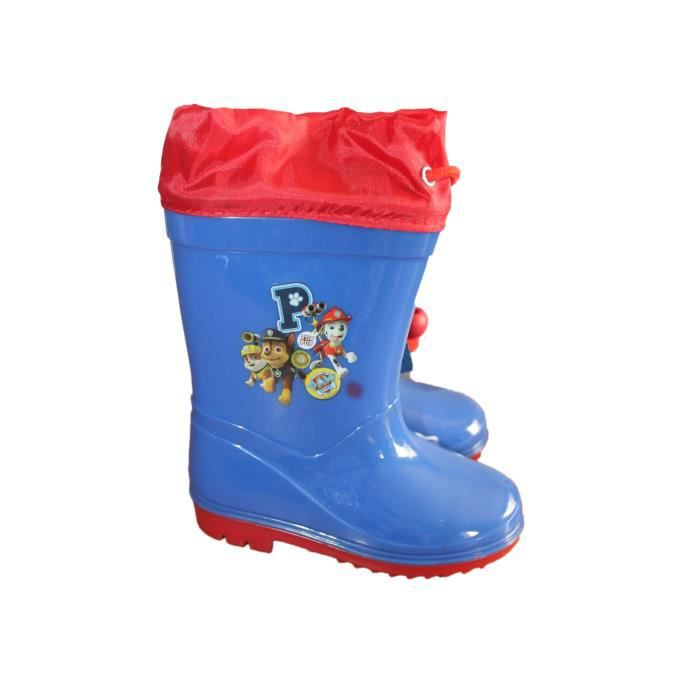 bottes de pluie pat patrouille bleue waOhAF19M