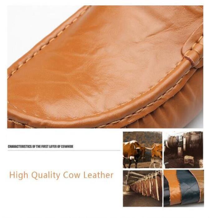 Moccasins pour Femmes Marque De Luxe Les chaussures de loisirs Haut qualité Antidérapant Moccasin à semelles souples Plus Taille