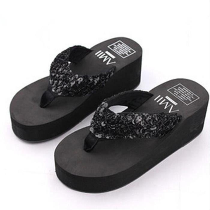Sandale Tongs Femmes De Marque De Luxe Confortable Chaussures Qualité SupéRieure Plusieurs Couleurs 36-40