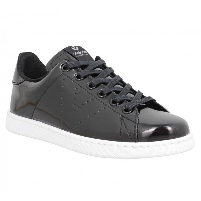 a00221c50643bd Baskets VICTORIA 12570 vernis Femme-39-Noir Noir Noir - Achat ...