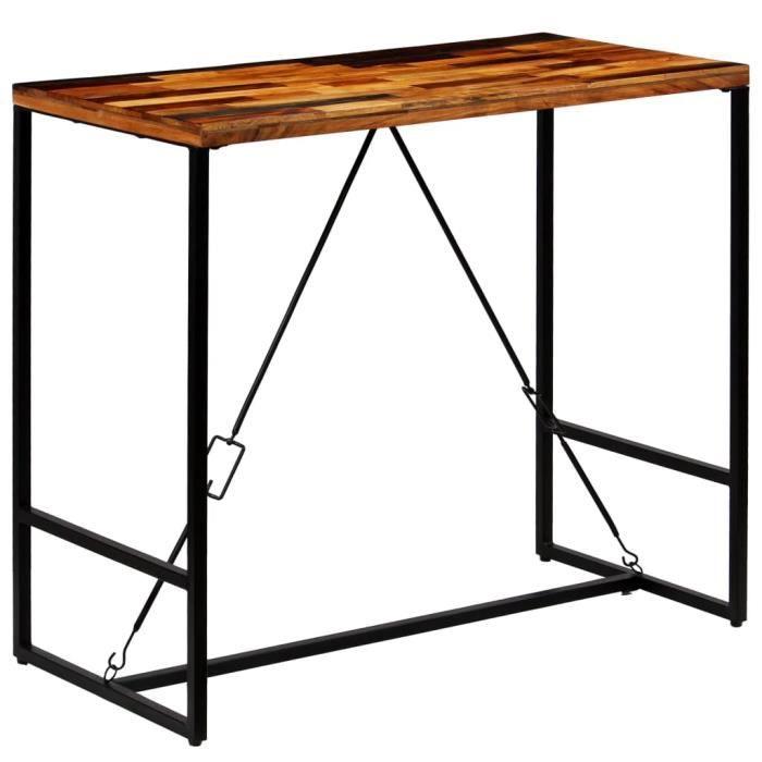 049bfdc44474a7 Table haute mange debout industriel - Achat   Vente pas cher