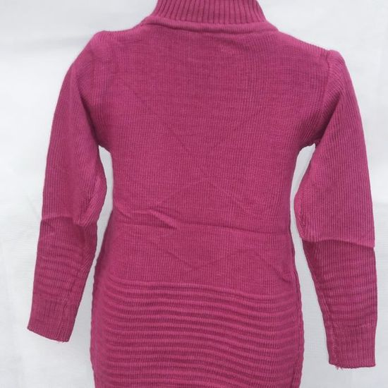 5aa4cb9ddbc8c ROBE EN LAINE VIOLETTE 12 ANS ROBE PULL A MANCHES LONGUES Violet VIOLET -  Achat   Vente robe 2009893317545 - Cdiscount
