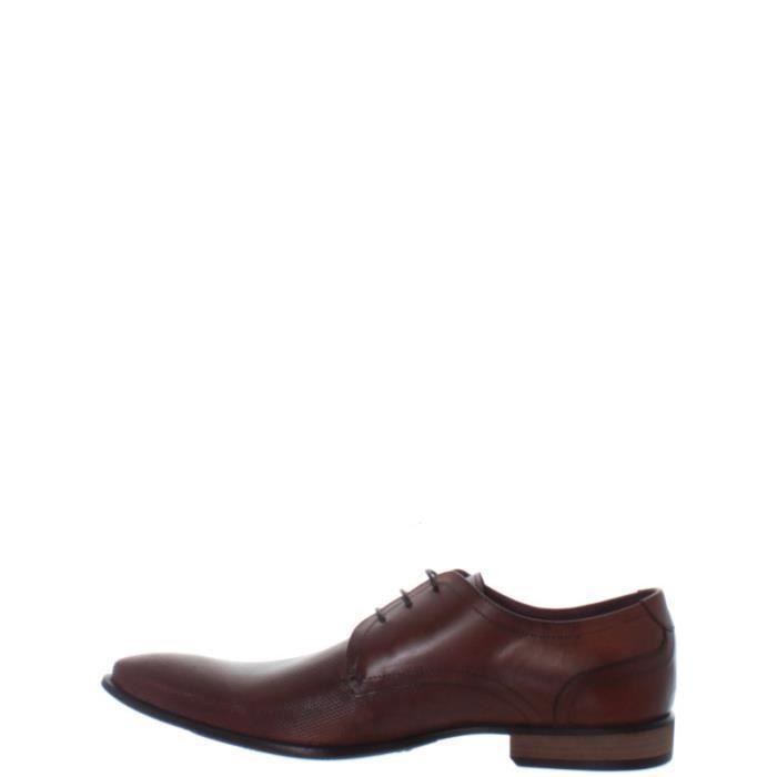 Chaussures de ville Petit Redskins en cuir ref_cle34904-marron