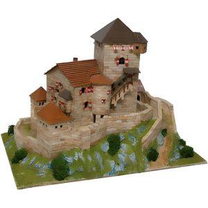 GARAGE - BATIMENT Maquette en céramique - Château Branzoll, Chiusa