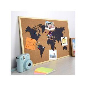 TABLEAU - TOILE Tableau d'Annonces Carte du Monde