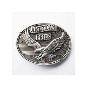 CEINTURE ET BOUCLE boucle de ceinture drapeau usa aigle american prid 3848889f7af